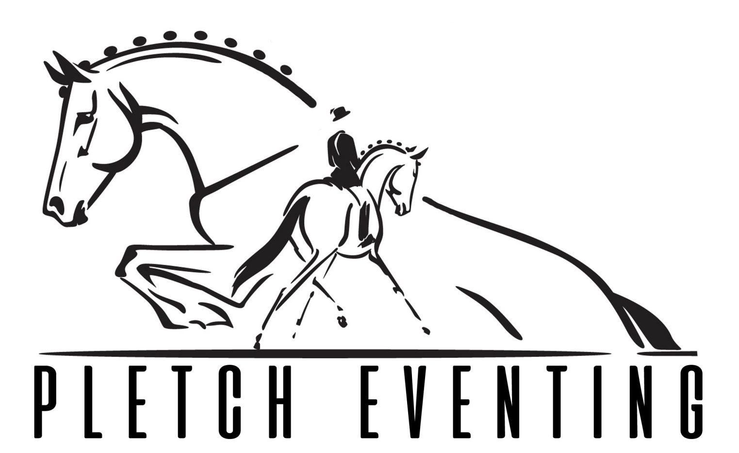 Pletch Eventing logo graphic